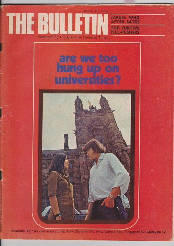 Bulletin magazine, 1972