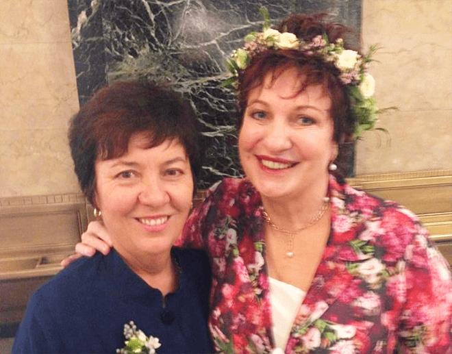 Julie and Melissa's wedding