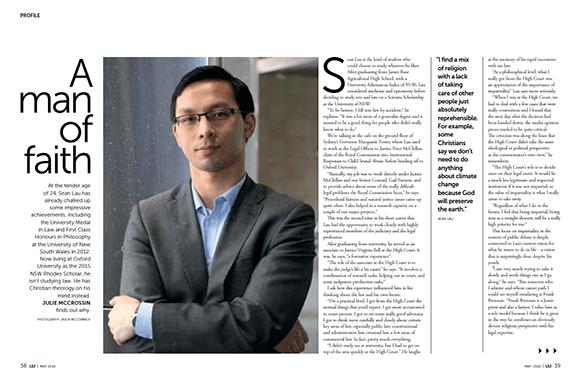 Law Society Journal May 2015