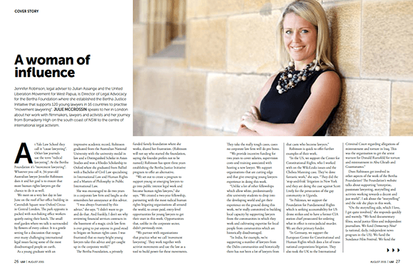 Law Society Journal August 2015