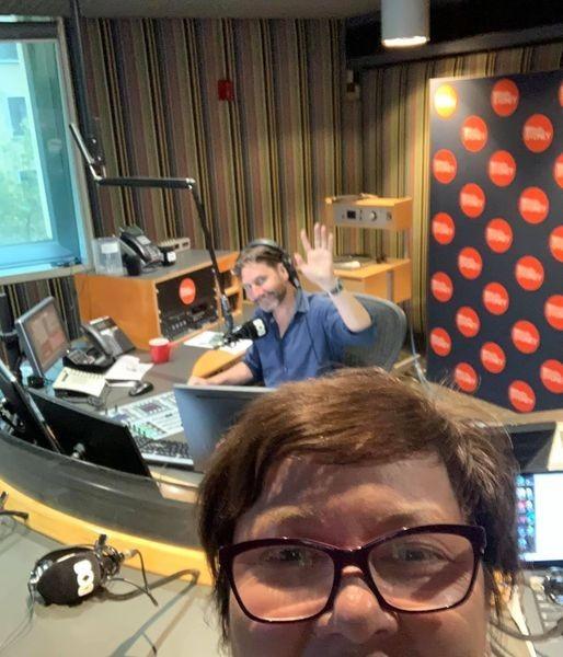 Julie at ABC Radio
